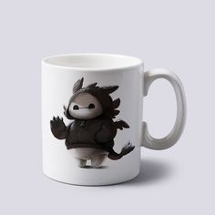 baymax big hero 6 toothless jacket Mug 11oz Two Sides Coffee Tea Cup Home Office #MugDesign