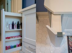 Vanity Pullouts - traditional - bathroom vanities and sink consoles - minneapolis - Steven Cabinets
