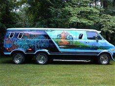 Custom van 1977 Dodge - If you have any images you wish to submit email to tastefulimagesnz@gmail.com
