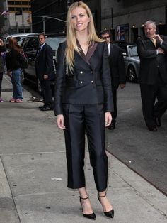 Brooklyn Decker outside the Ed Sullivan Theater for her appearance on Late Show with David Letterman in New York City on April 8, 2014
