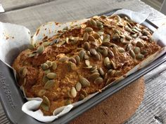 Recipe: Paleo Pumpkin Bread with the Thermomix