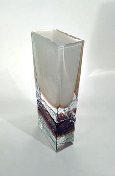 Beranek Glass rare vase by Petr Hora