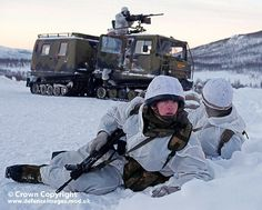 Royal Marines from 45 Cdo in Norway by Defence Images, via Flickr