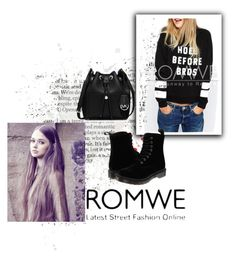 """""""Untitled #251"""" by lejlasaric ❤ liked on Polyvore featuring Dr. Martens and MICHAEL Michael Kors"""