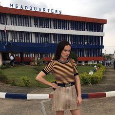 """5,062 likerklikk, 79 kommentarer – Hailey Gates (@haileybentongates) på Instagram: """"Police headquarters Liberia 🇱🇷"""""""