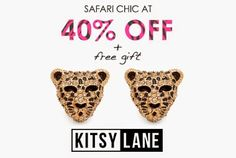 Eliesya J's Online Boutique: Safari Chic 40% OFF Jewelry Sale + FREE GIFT  #saf...