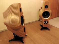 Chrysalis - artisan loudspeakers HI-FI 3-way (price per pair)