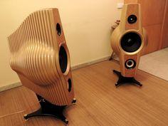 Chrysalis - artisan loudspeakers HI-FI 3-way (price per pair)