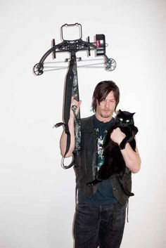 The Walking Dead's Norman Reedus Gets The Terry Richardson Treatment! - Norman Reedus is the best part of The Walking Dead, and everybody knows it. Loyalty is everything, and he's incredible at killing zombies! Rick Grimes, Zombies, Terry Richardson Photos, Carl The Walking Dead, Evil Dead, Film D'animation, Cat People, Stuff And Thangs, Raining Men