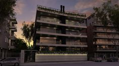 JB Arquitectos- Edificio Vivienda Multifamiliar - Paseo Victorica 890 - Tigre Multi Story Building, Architectural Firm, Walks, Architects, Buildings