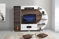 Modern tv wall unit designs design built in for bedroom