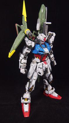 PG 1/60 Perfect Strike Gundam - Customized Build     Modeled by Toymaker
