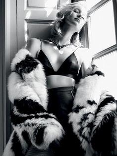 Sasha Luss, Nastya Sten by Txema Yeste for Vogue Russia October 2015