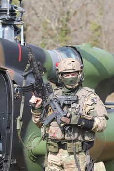 French Special Forces pilot