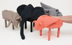 Petstools by Hanna Emelie Ernsting