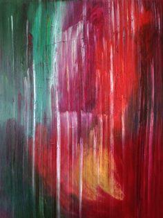 Burning bush. Oil on canvas 82 X 64 inches. La zarza encendida óleo sobre lienzo 160 x 205 centímetros.  #abstract #oilpainting #oiloncanvas #painters #panama #temocpalomino #paintings