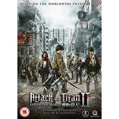 Attack On Titan: The Movie: Part 2: End Of The World £15.99