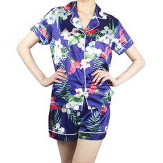 Pajamas Women, Pyjamas, Nightwear, Floral Tops, Pajamas For Women, Top Flowers, Pajama