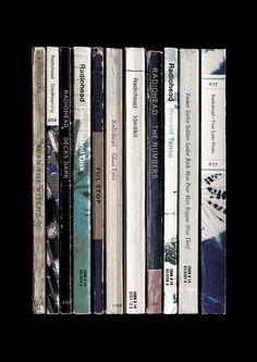 Radiohead 'A Moon Shaped Pool' Album As Books by StandardDesigns