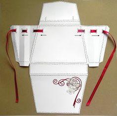 Pretty Papers - přáníčka, scrapbook, tvoření z papíru...: DIY tutoriál... Maminkám k svátku Hermes, Pretty