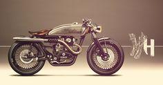 Wow! YAMAHA XS650 / S383 Motorcycles Motorcycles / Design / cafe racer / scrambler / speed / moto