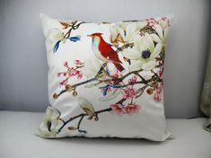 1 piece of flower bird design cushion cover for sale    Make your home modern and special at an affordable price !!You are viewing on our Brand New