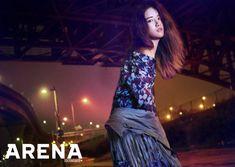 우주소녀(WJSN) 엑시 서울 밤거리 압도하는 몽환적인 카리스마 #topstarnews