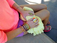 summer color + shoe guide