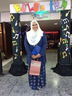 Lovely customer wearing Norlia Baju Kebaya Set