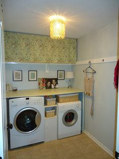 Simple laundry room update
