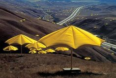"Christo and Jeanne-Claude - ""The Umbrellas"""