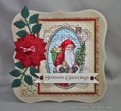 Made by Jessica Fick, on Paper Planet. Stamped image with embossing folder.