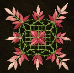 Facebook Bobbin Lacemaking, Lace Heart, Lace Jewelry, Hand Embroidery Stitches, Lace Making, Crochet Squares, Quilt Blocks, Diy And Crafts, Floral Design