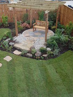 Flower Garden Plans, Garden Design Plans, Garden Landscape Design, Yard Design, Small Backyard Landscaping, Backyard Ideas, Outdoor Fireplace Patio, Small Courtyard Gardens, Garden Privacy