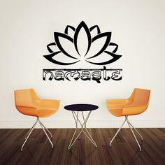 Wall Decal Vinyl Sticker Decals Art Home Decor Design Mural Indian Yoga Namaste Words Lotus Flower Buddha Ganesh Mandala Bedroom Dorm