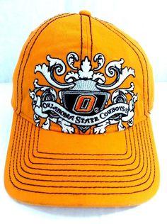 Oklahoma State Cowboys Hat OSU Floppy Strapback Cap  #Signatures #OSU #Cowboys #FloppyStrapbackBaseballCap #SlanginLidsAndSellingHats