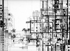 This collection of architectural drawings is incredible!  The Architectural Reivew's Folio