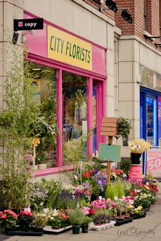 Flower Store, Dublin. Ireland by ★☆Gigi☆★, via Flickr