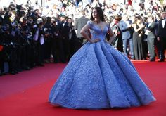 LOOK: Bollywood star Aishwarya Rai dons Michael Cinco gown ...