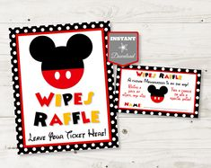 """Details about  /Mickey Tote 8"""" Tall X 10"""" Wide"""