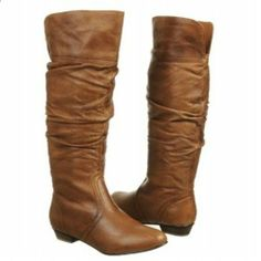 My absolute FAVE boot. I highly recommend to anyone. Steve Madden Candence Tan Boots - $60