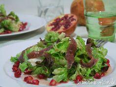 la cocina de aficionado: ensaladas
