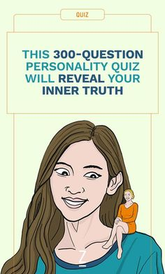 This is the ULTIMATE personality quiz!