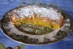 cocinaiarte: TARTA DE ALMENDRA Y CABELLO DE ÁNGEL
