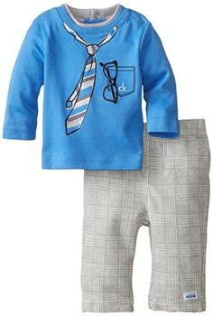 Calvin Klein Baby-Boys Newborn Tee with Tie and Pants, Blue/Grey, 3-6 Months Calvin Klein http://www.amazon.com/dp/B00K1BE14O/ref=cm_sw_r_pi_dp_Rjciub0SBF1A5