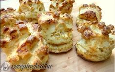 Bread Recipes, Diet Recipes, Cooking Recipes, Diabetic Recipes, Healthy Recipes, Savory Pastry, Hungarian Recipes, Biscuit Recipe, Sweet And Salty