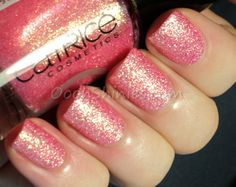 Catrice Call Me Princess + a little stamping (Oooh, Shinies! Nail Polishes, Nail Polish Colors, Love Nails, Pretty Nails, Simple Elegant Nails, Catrice Makeup, Pink Love, Call Me, Brittany