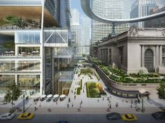 1 | SOM Proposes Flying UFO Over NYC's Grand Central | Co.Design: business + innovation + design