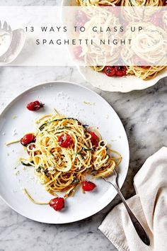 12 Totally Sophisticated Ways For Adults to Eat Spaghetti via @PureWow