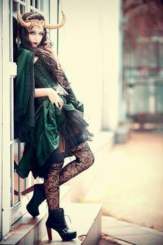 Lady Loki- I really like this cosplay.